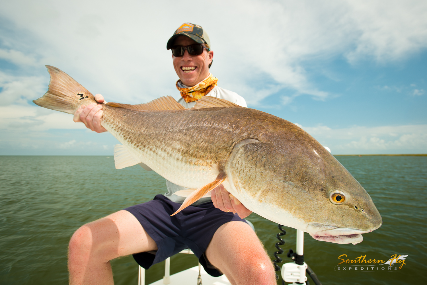 fishing charters louisiana - Southern Fly Expeditions redfish guide