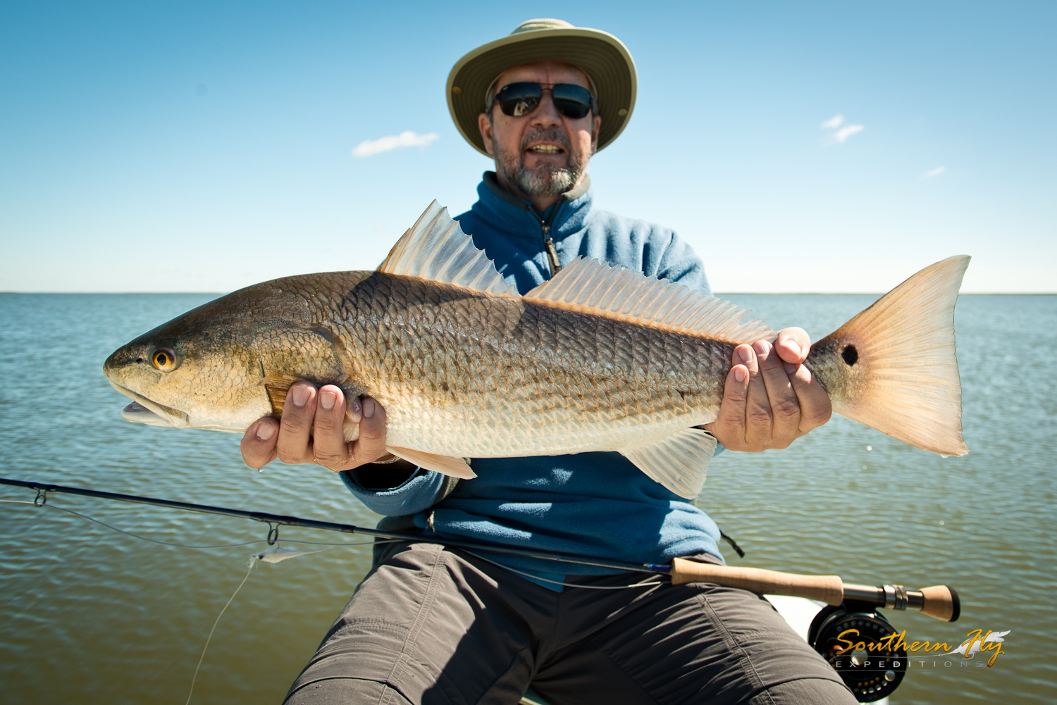 fishing on the fly with Southern Fly Expeditions and Captain Brandon Keck