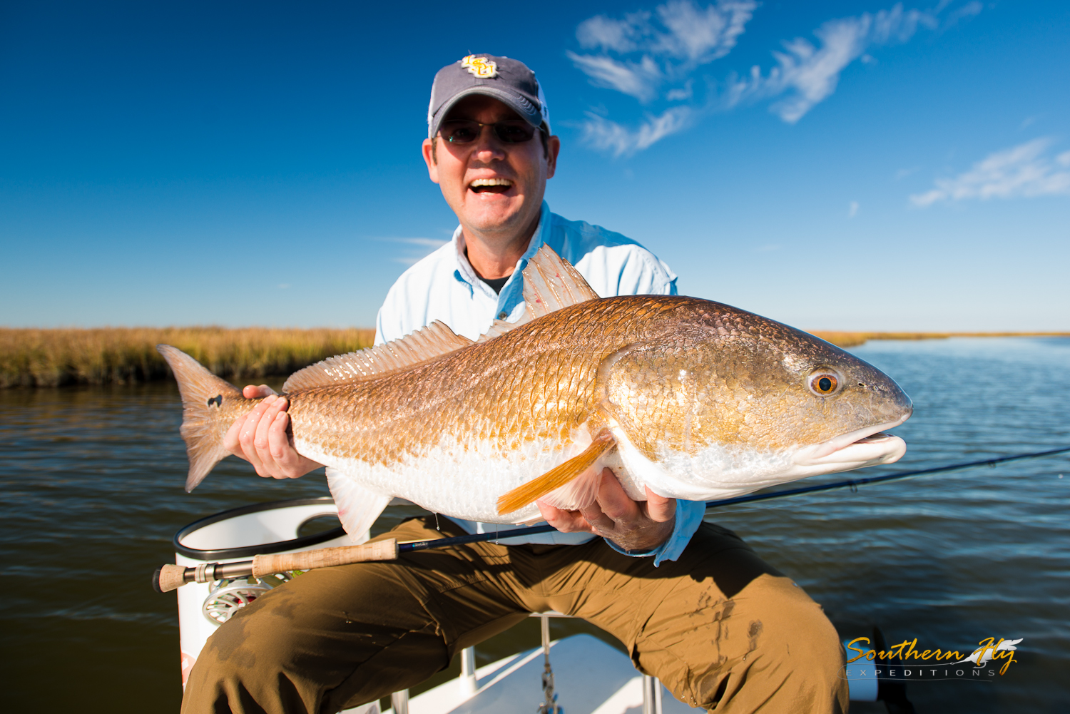 Fly Fishing new orleans la with Southern Fly Expeditions fishing charter guide