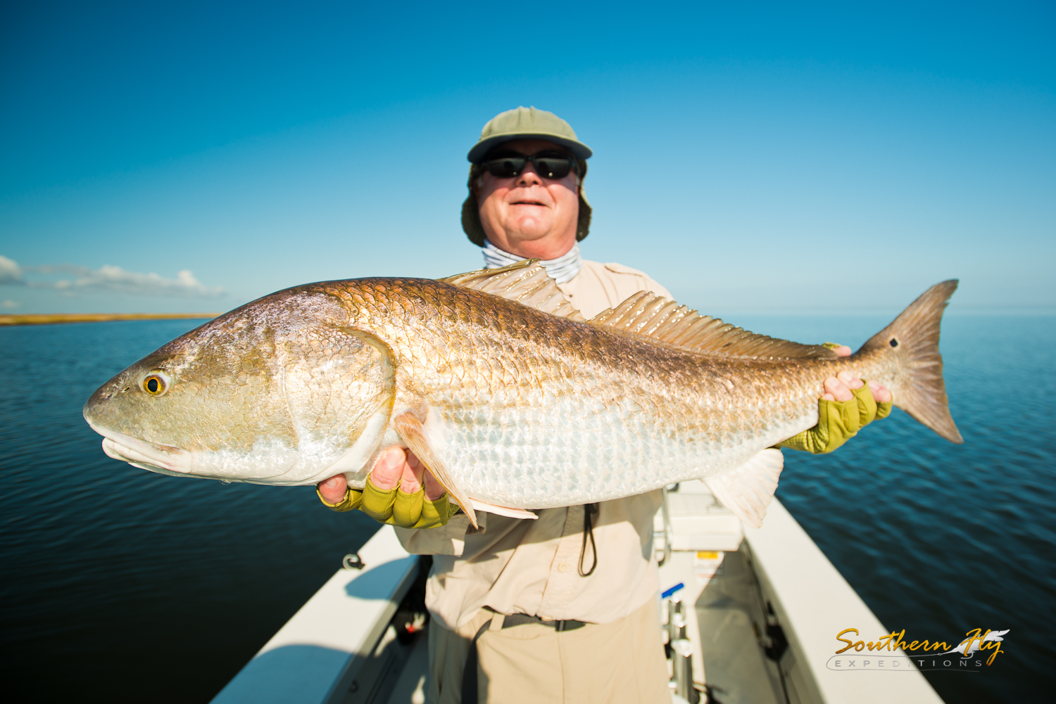 Monster Reds Guide New Orleans Southern Fly Expeditions
