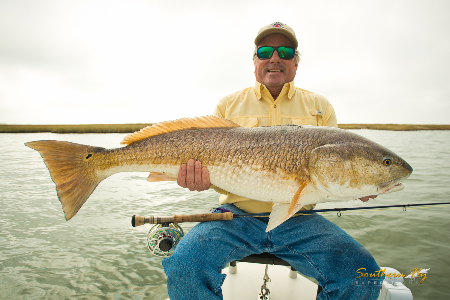 Louisiana Shallow Water Light Tackle Fly Fishing with Southern Fly Expeditions