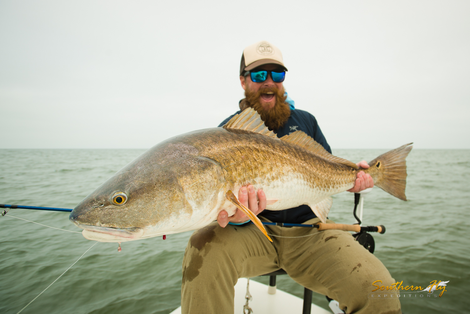 Shallow Water Sight Fishing Delacroix La with Southern Fly Expeditions