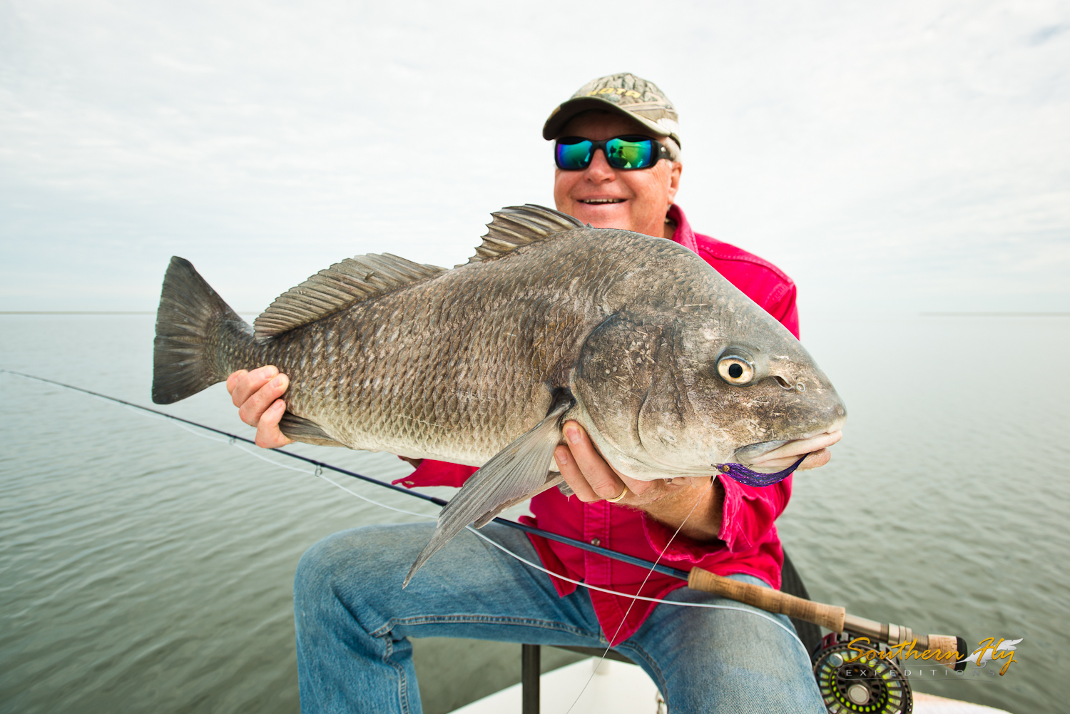Sight Fishing Hopedale La with Southern Fly Expeditions