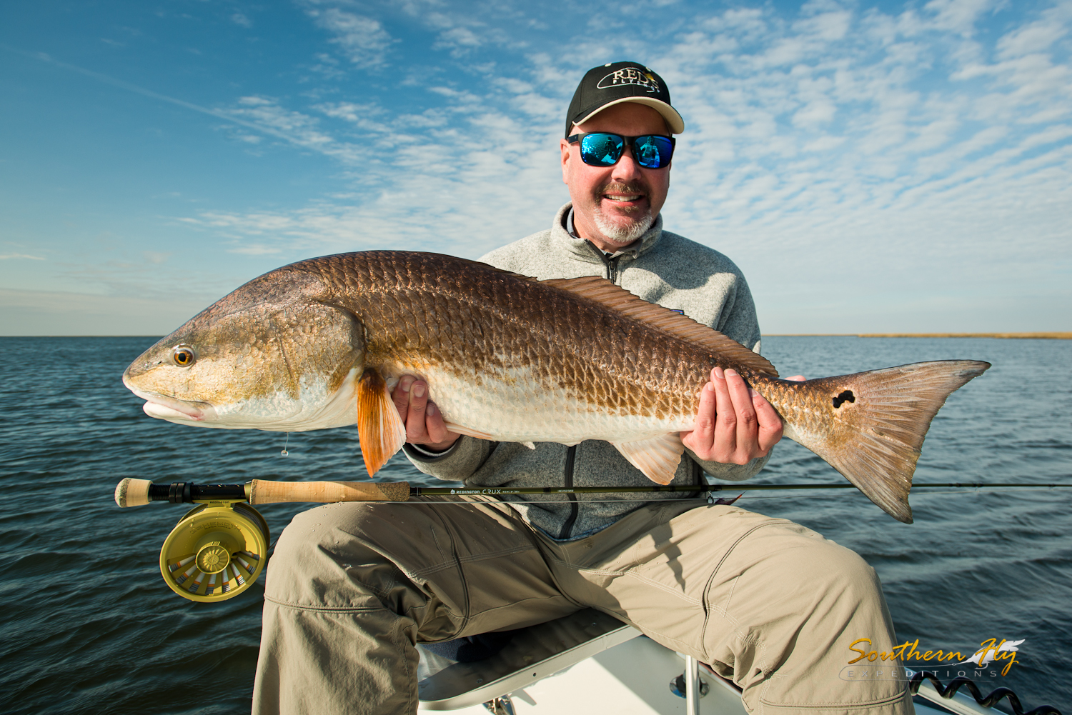 Spin Fishing Vacation In the Marsh Waters Hopedale La with Southern Fly Expeditions