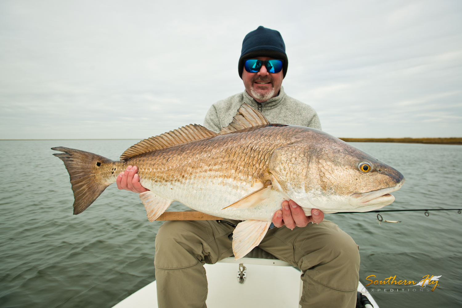 Spin Fishing Marsh Waters near Delacroix La with Southern Fly Expeditions