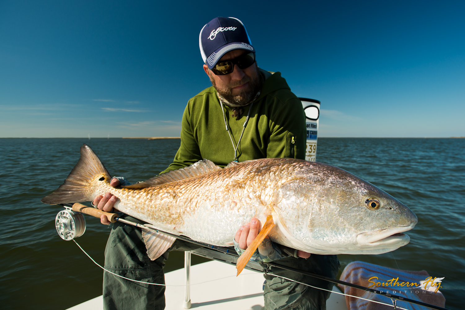 Light Tackle Redfish Guide New Orleans Southern Fly Expeditions