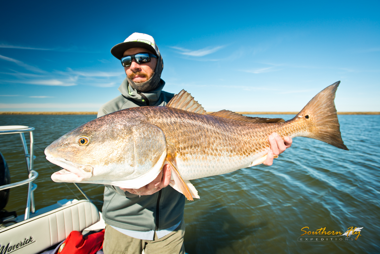Southern Fly Expeditions fly fishing new orleans with Captain Brandon Keck