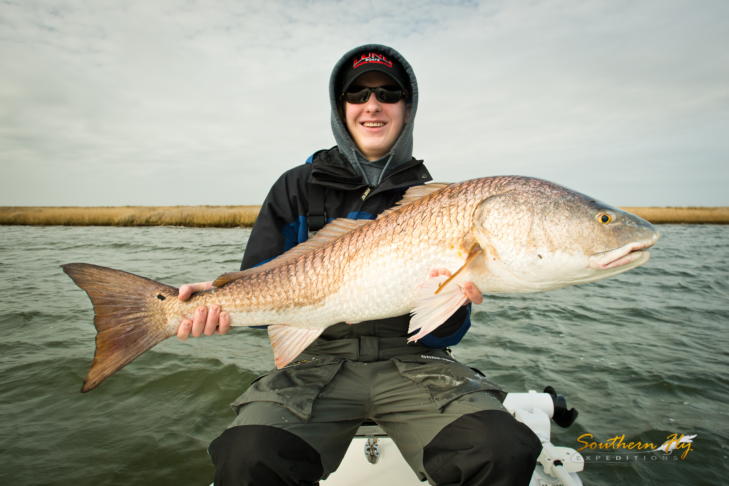 Redfish guides new orleans louisiana iwth southern fly expeditions