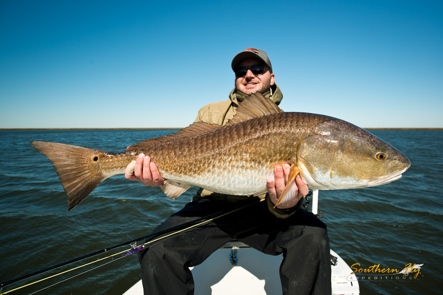 fly fishing in new orleans with Southern Fly Expeditions