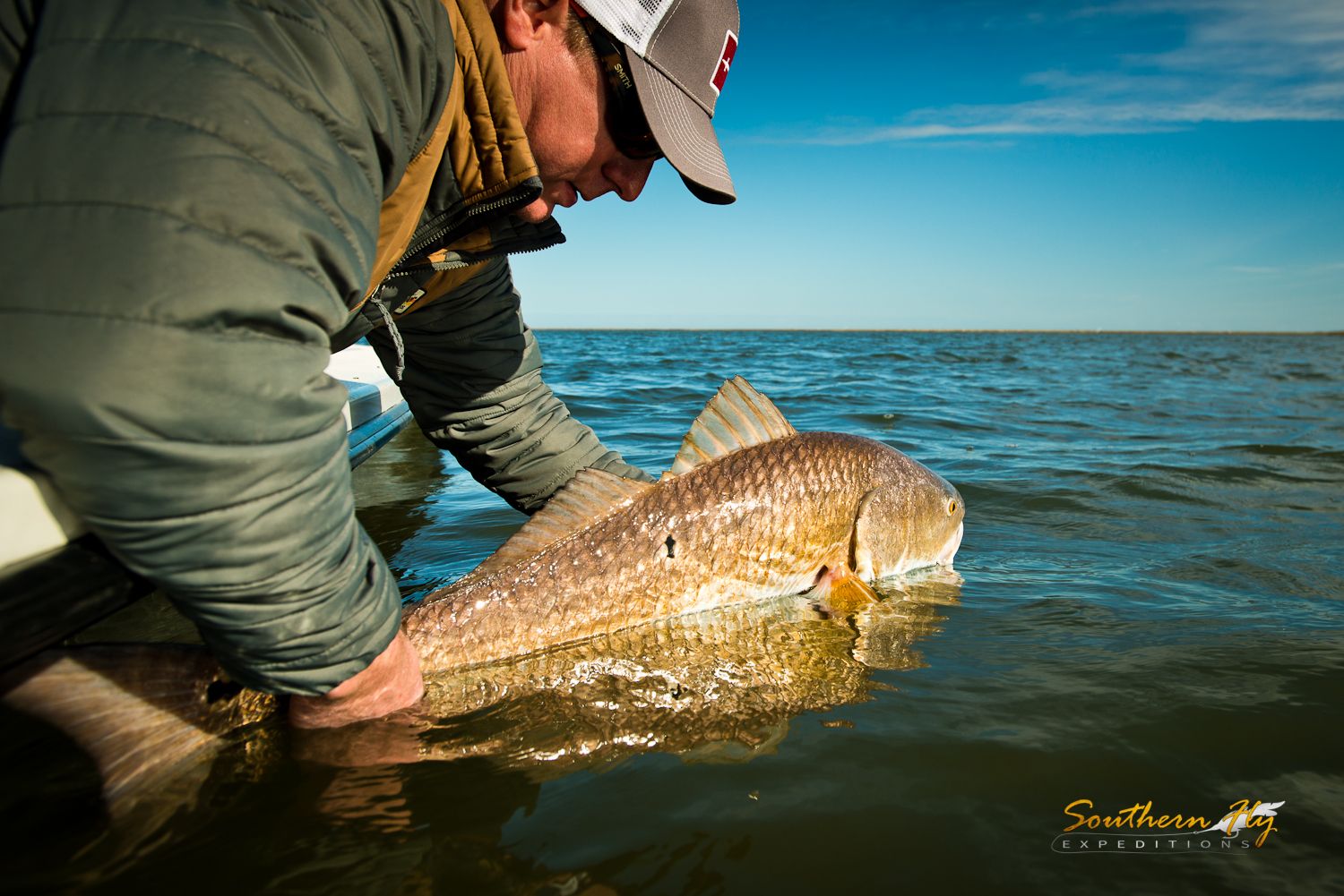 catch and release fly fishing and sight fishing with Southern Fly Expeditions