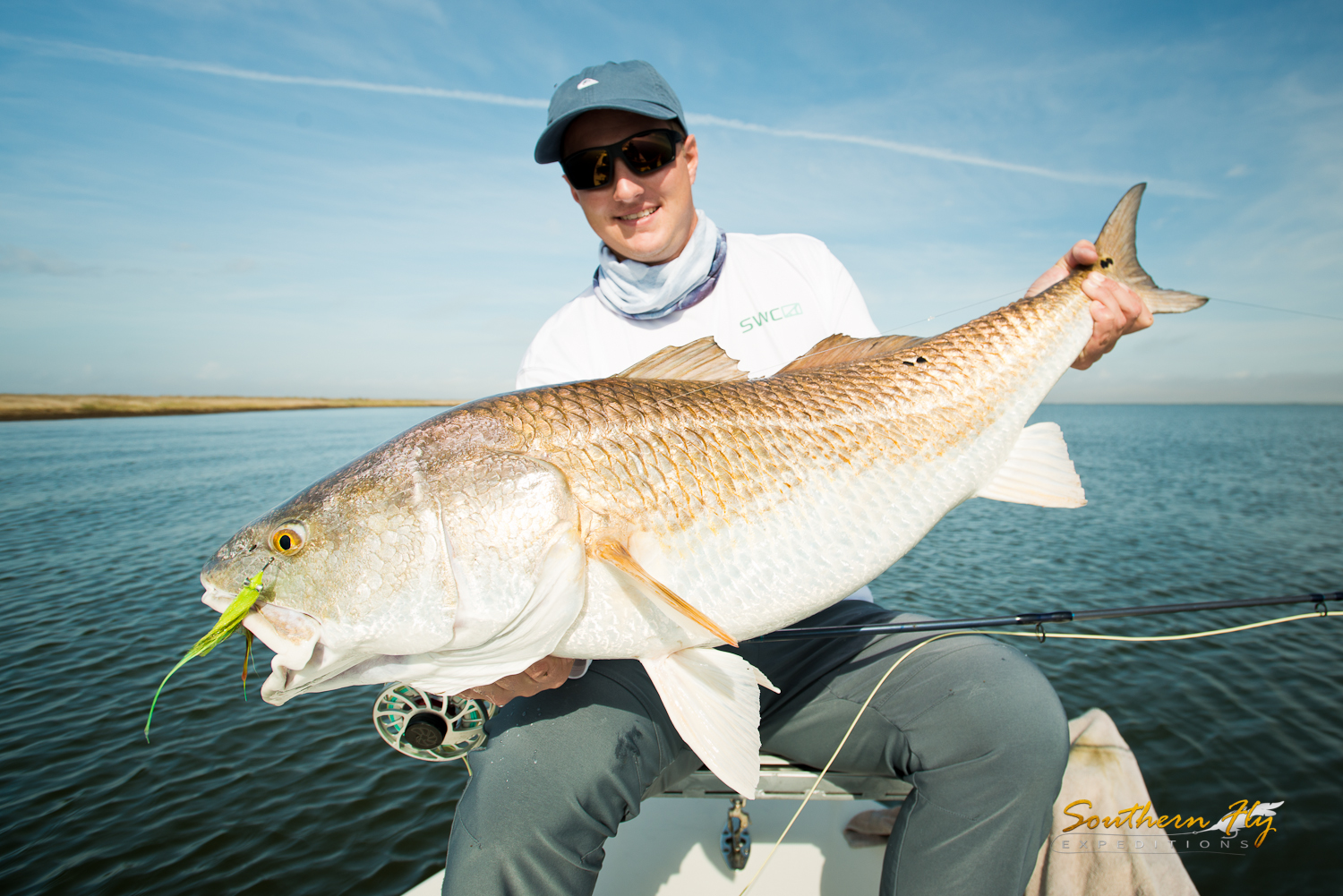 Fly Fishing for Redfish New Orleans Charter Southern Fly Expeditions