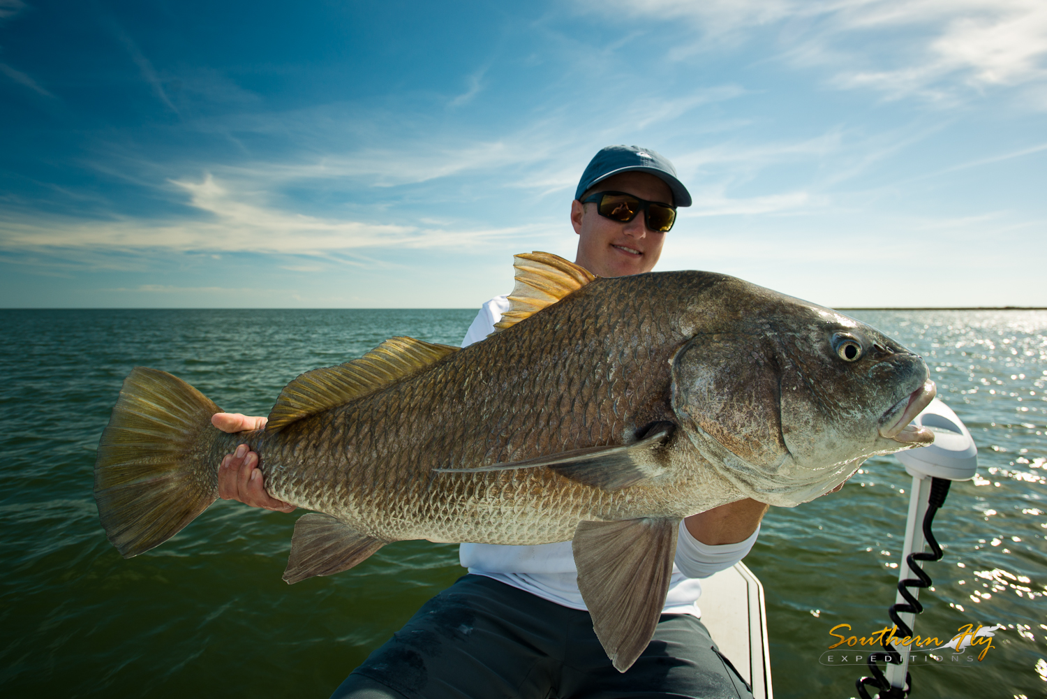 Monster Reds Fly Fishing Guide Venice Louisiana Southern Fly Expeditions