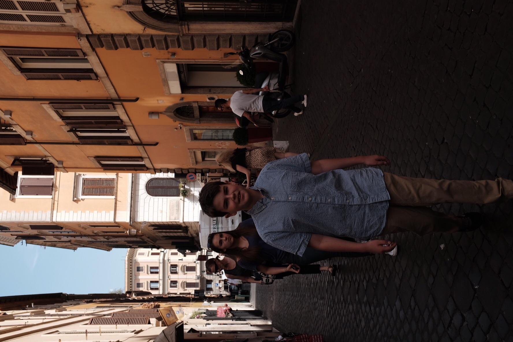 Walking to the Vatican