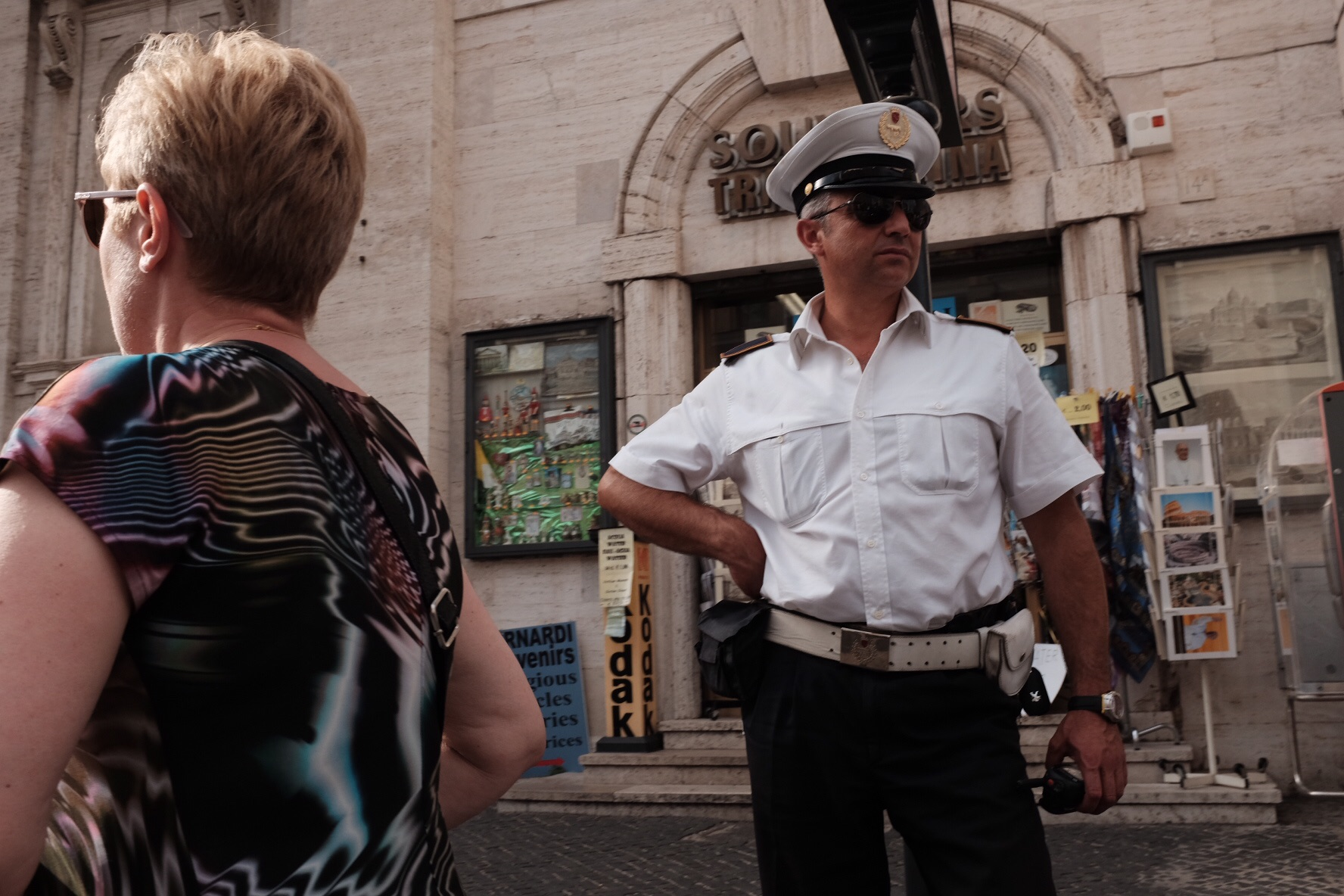 Fancy police uniform