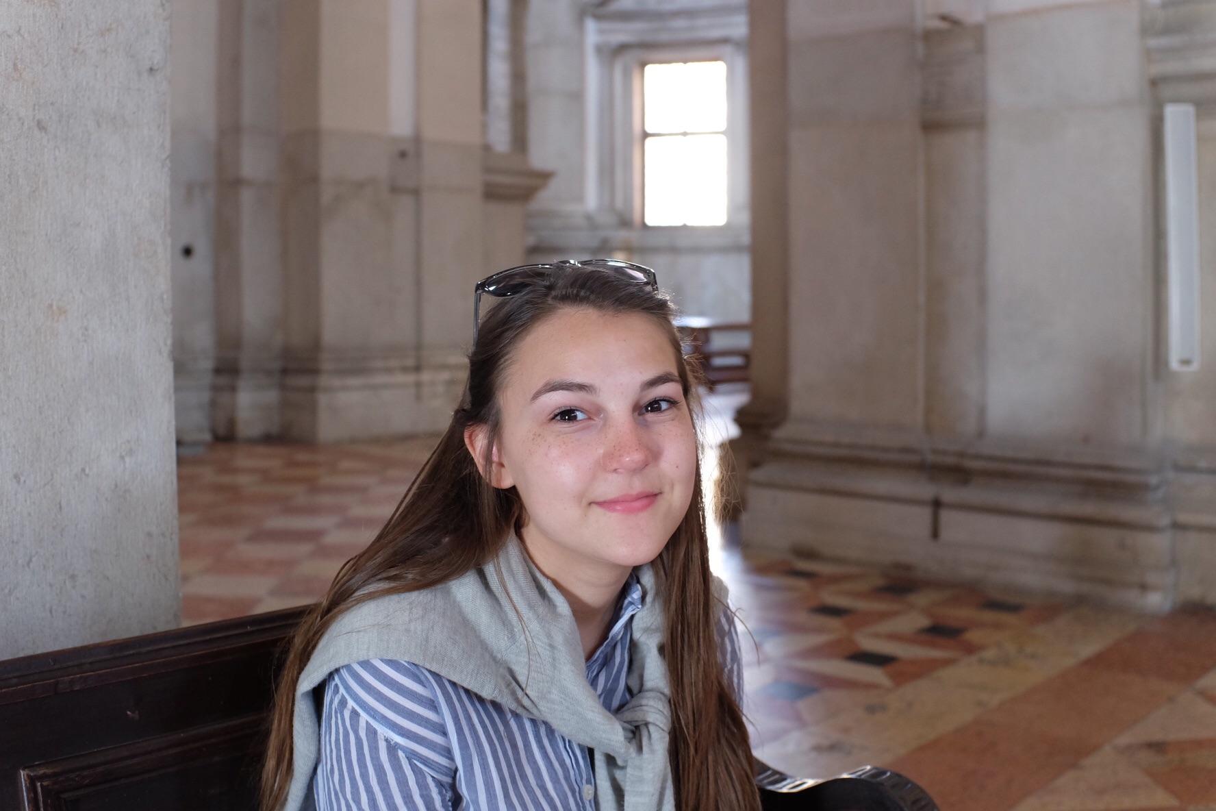Syd inside San Giorgio Maggioro