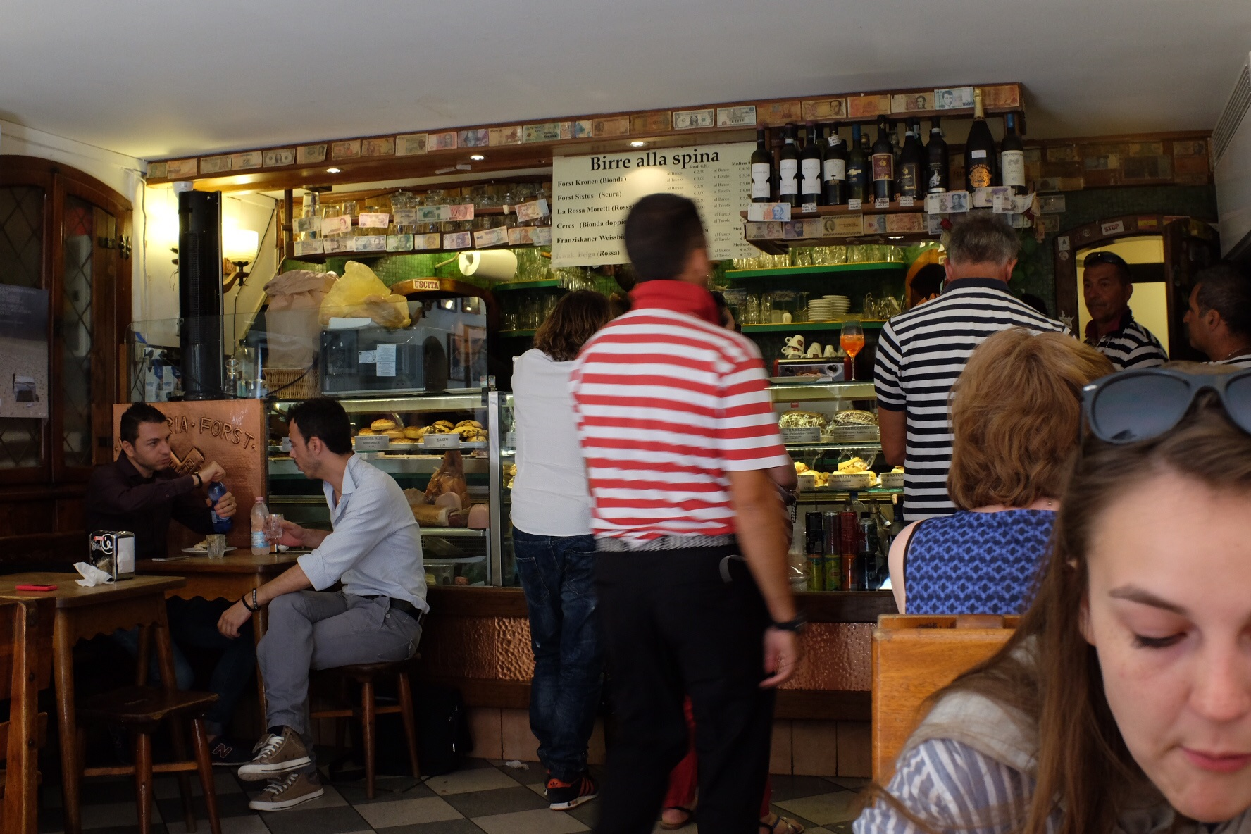 Lunch at Birreria Forst. If it's good enough for gondoliers ...