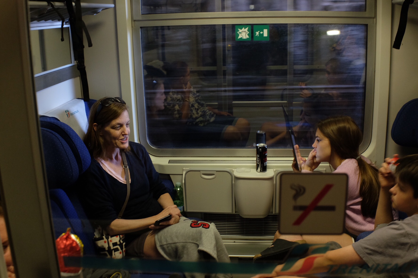 On the rails to Monterosso