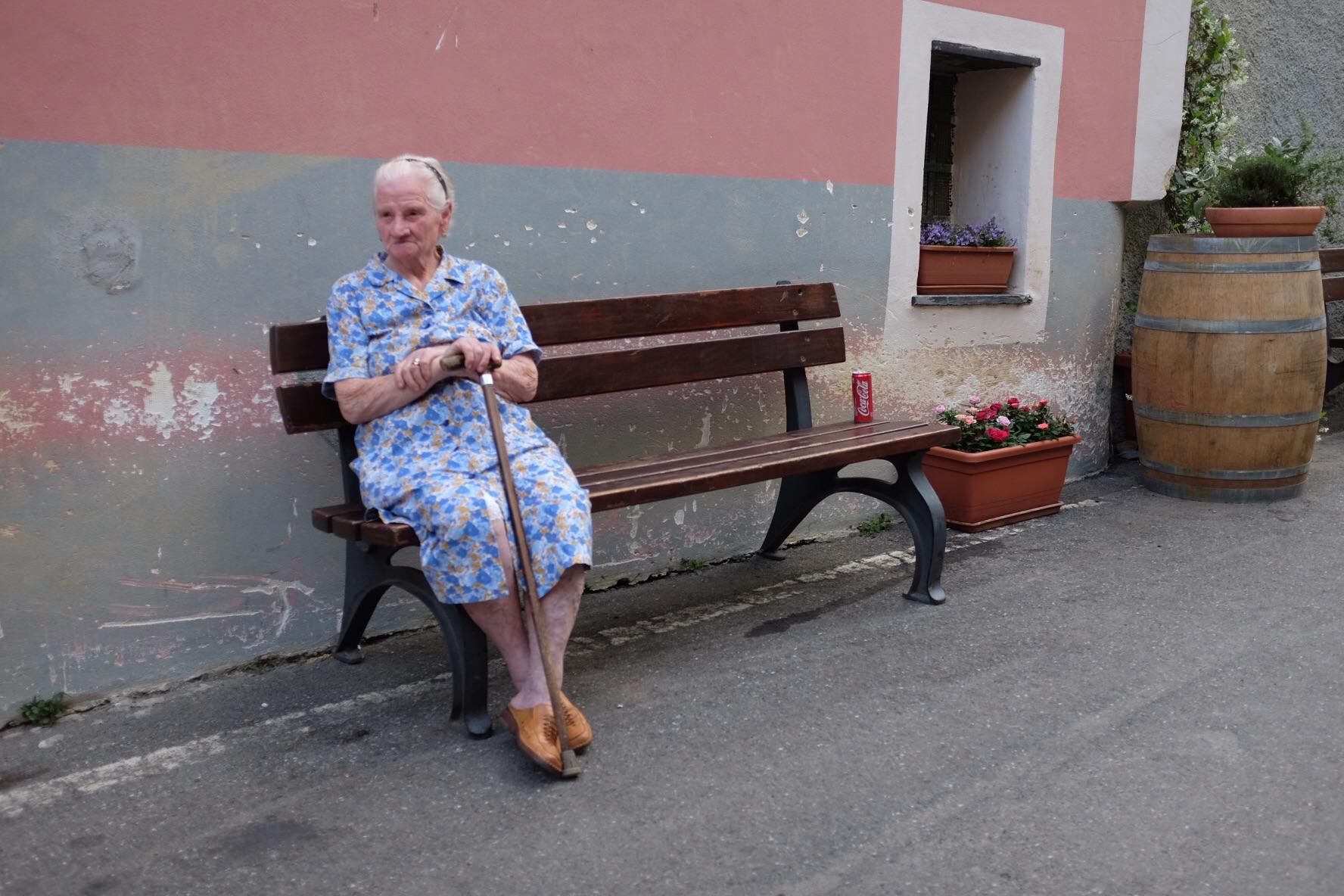 Monterosso resident