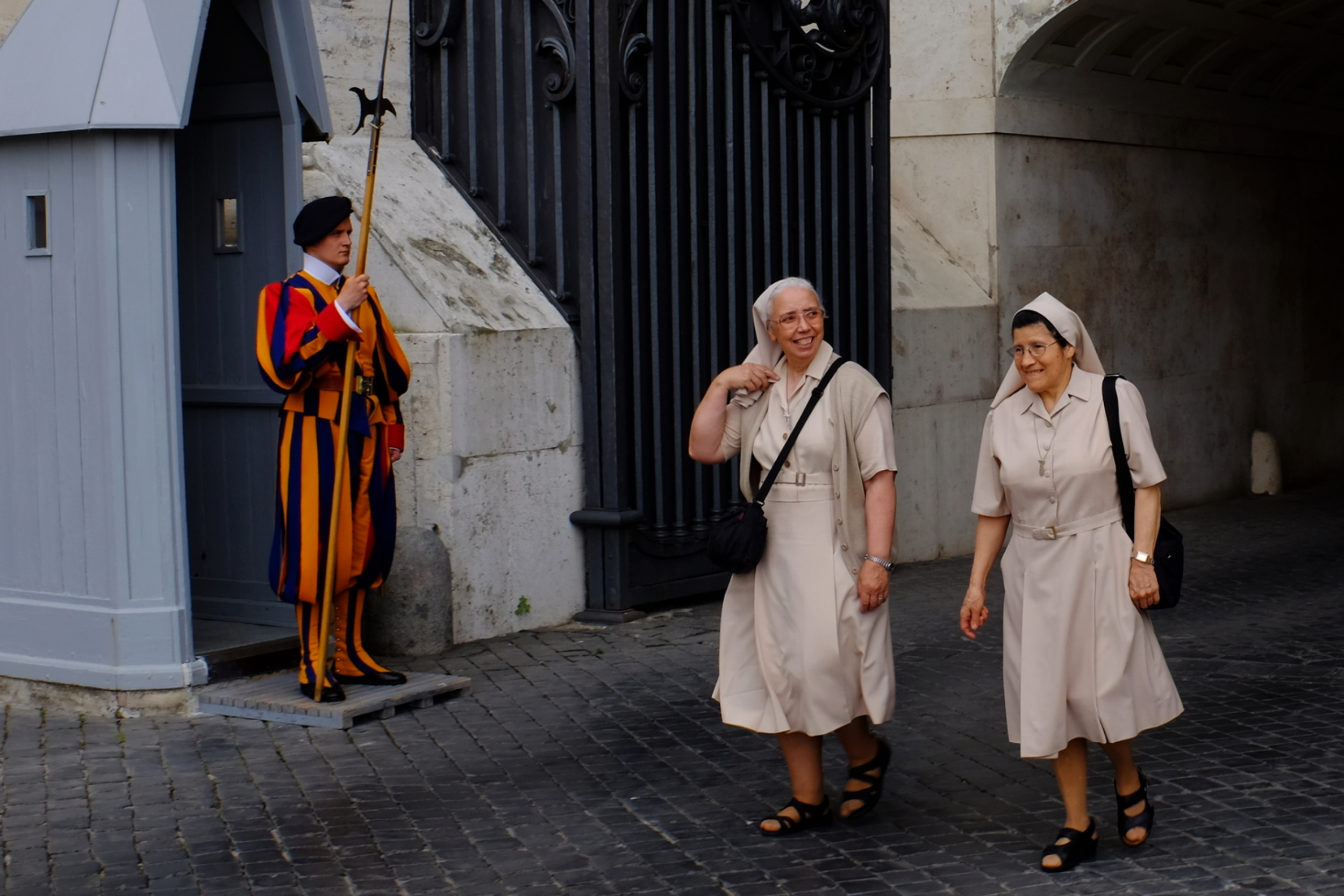 Vatican uscita