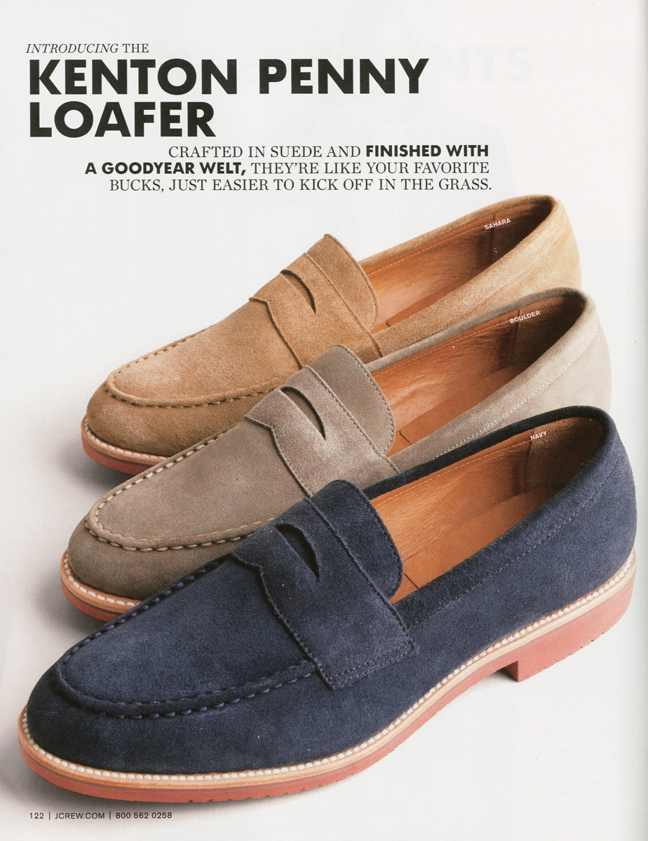 Kenton penny loafers