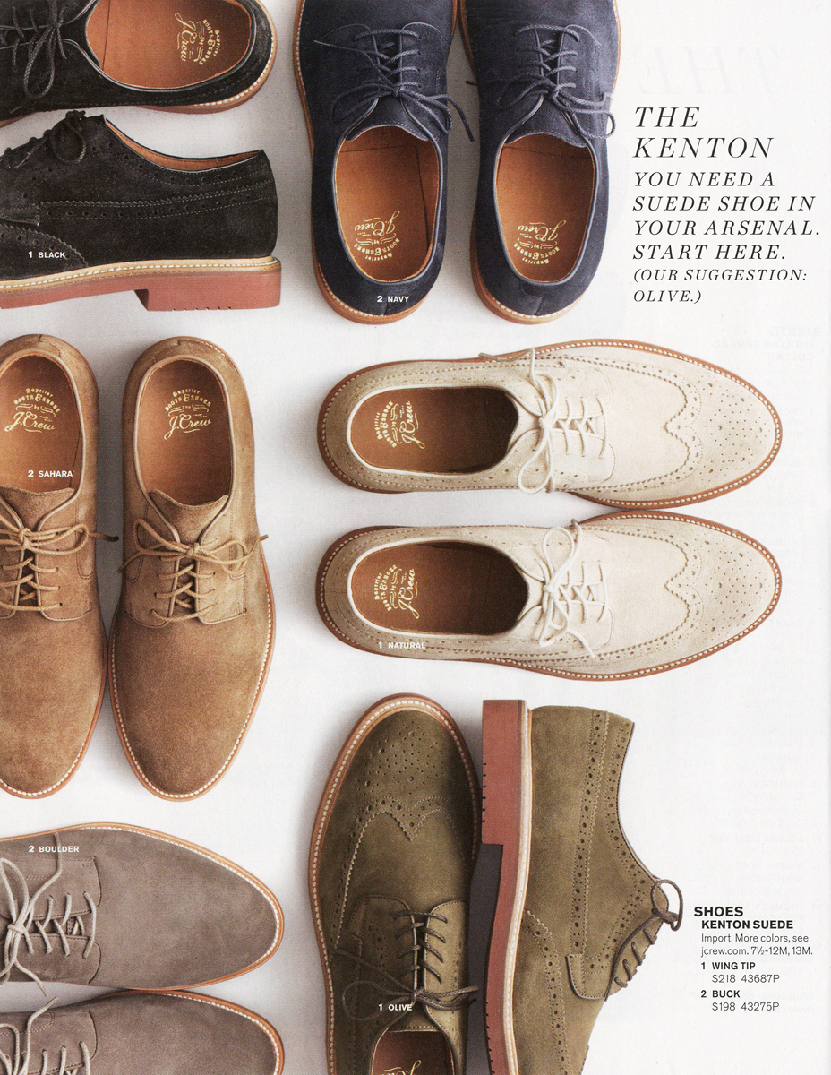 Kenton suede collection