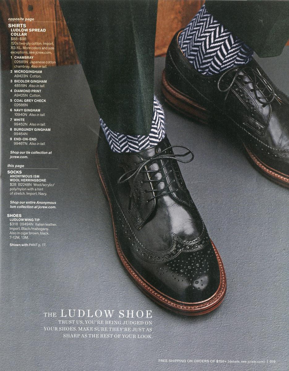 Ludlow wing-tip