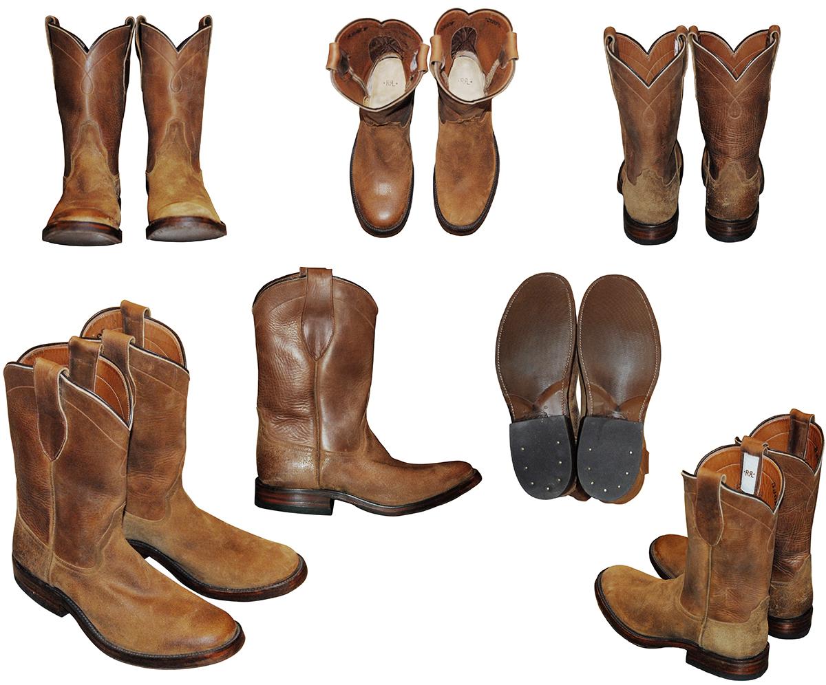 RRL Roper Boots