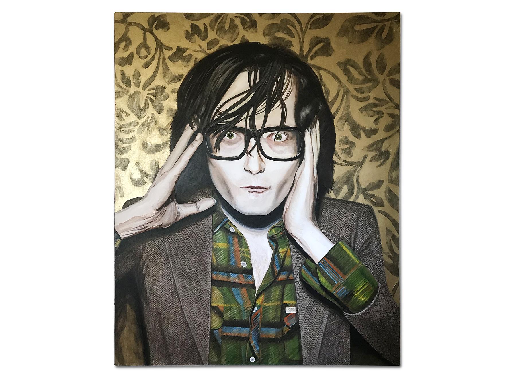 Jarvis (2008) - Acrylic + Oil on Canvas