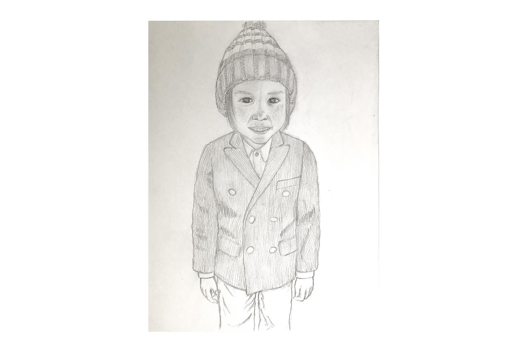 Alden (2014) -  Pencil on Paper