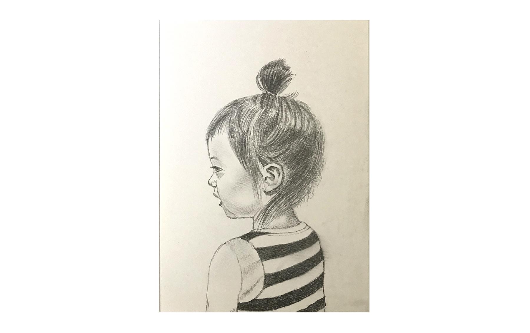 Bonnie (2014) -  Pencil on Paper