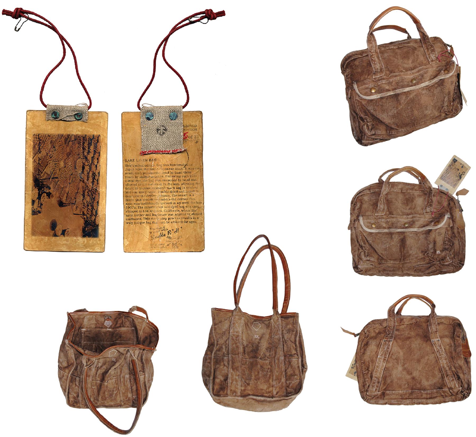 RRL Sake Bags