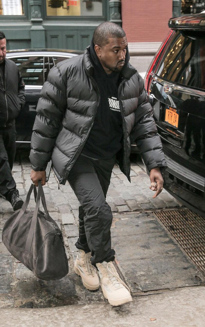 Kanye West + Overnighter