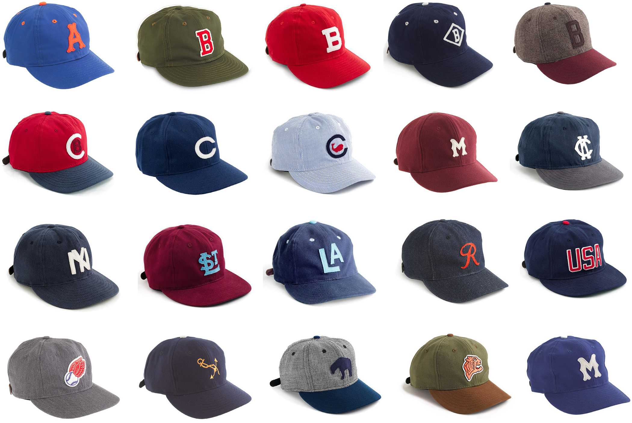 Ebbets Field Flannels for J Crew