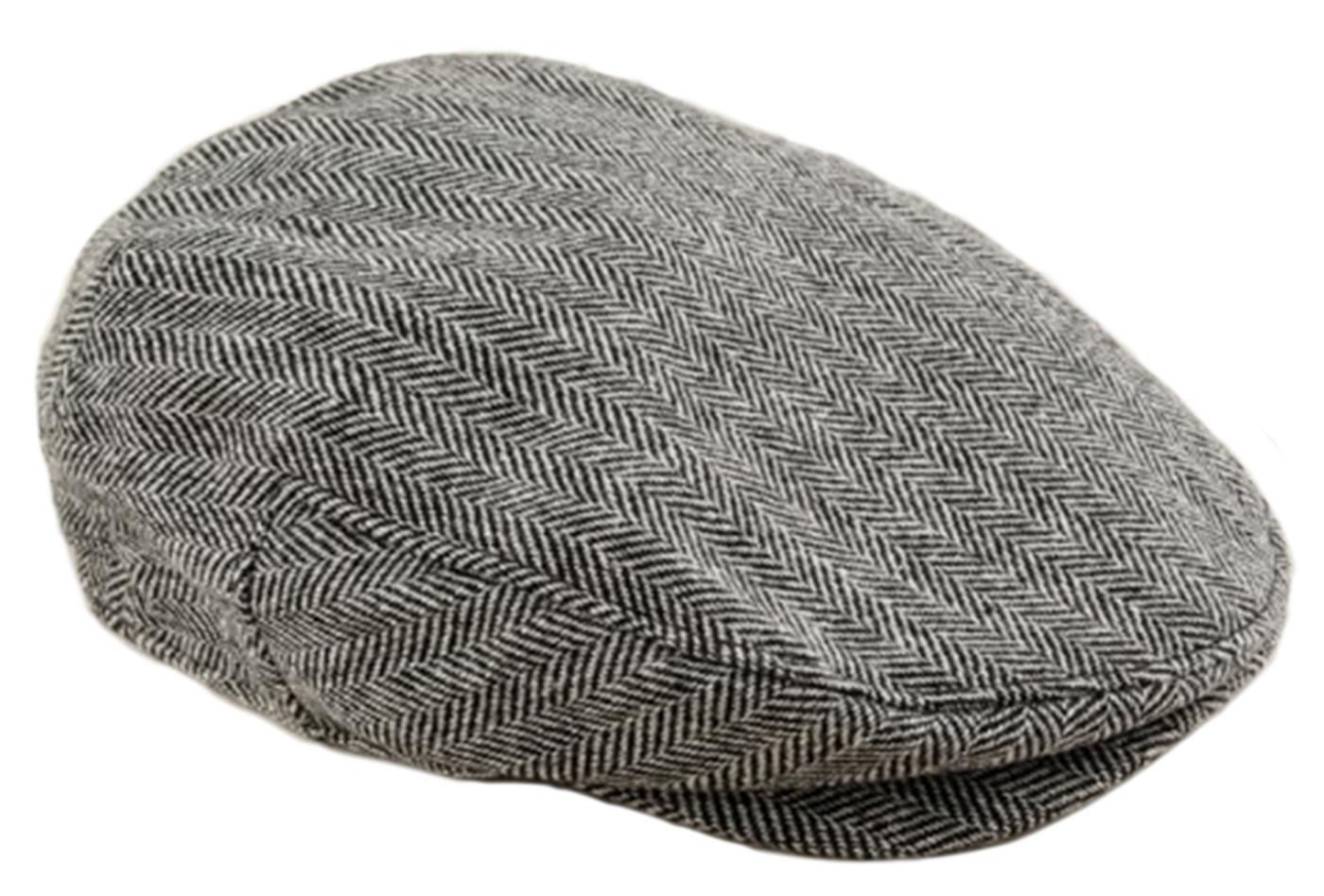 Harris Tweed Driving Cap