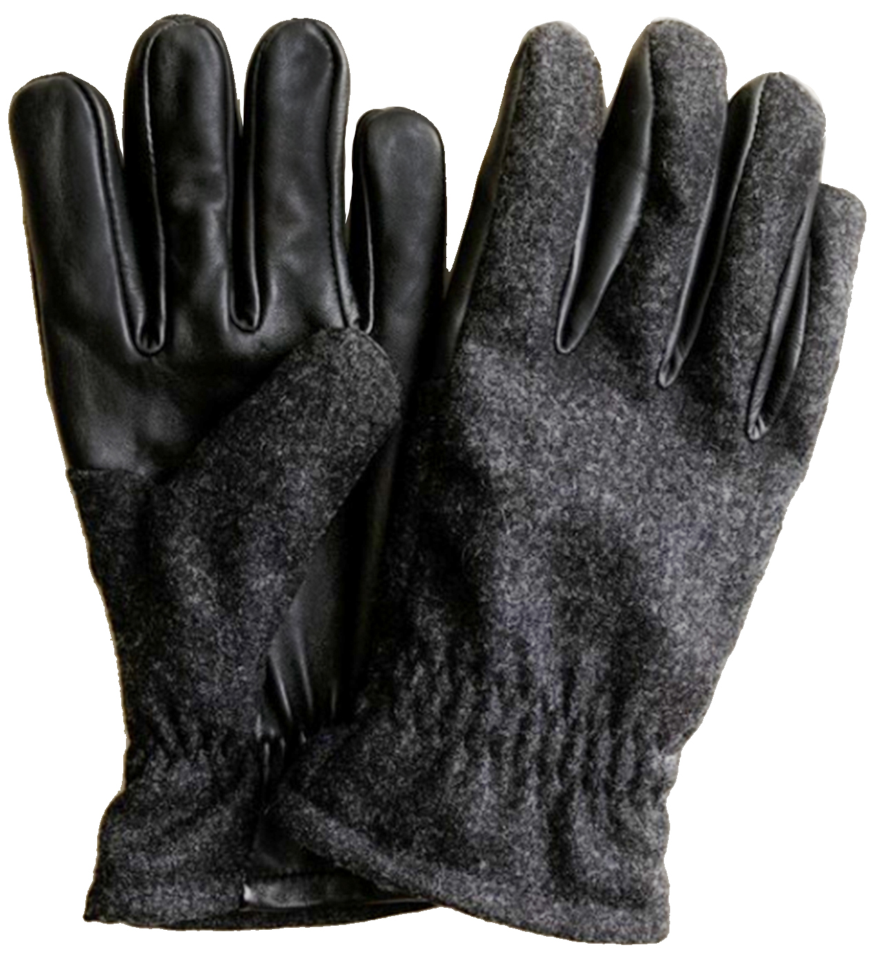 Wool Leather Touchtec Gloves