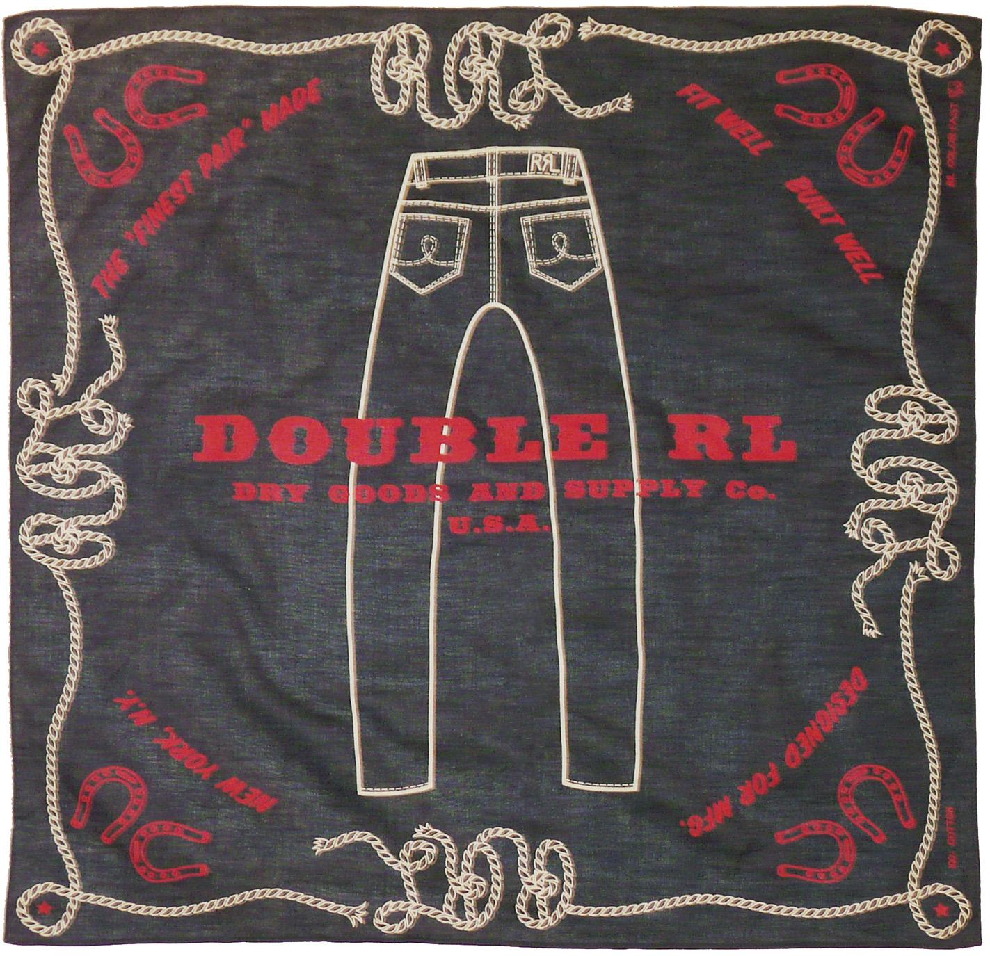 RRL 'Jeans' Bandana