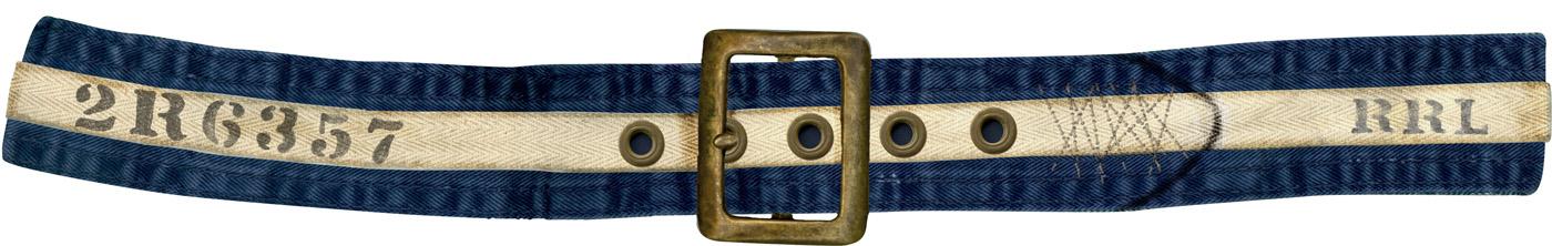 RRL Cloth Belt