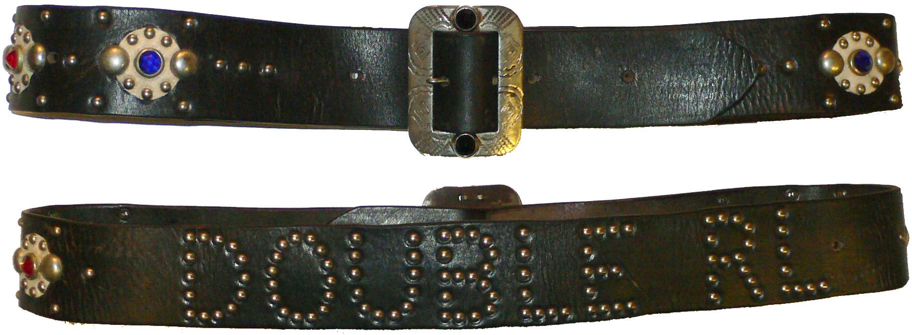 RRL Studded Belt