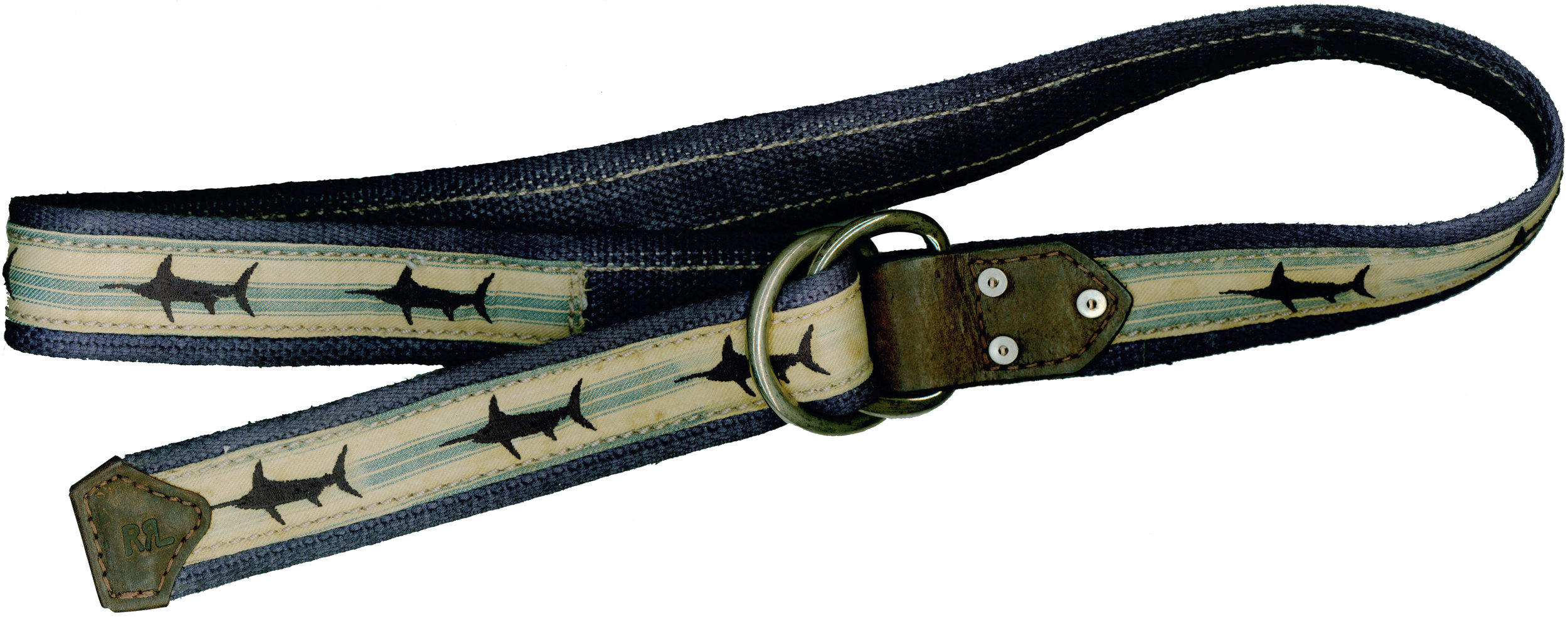 RRL Swordfish Webbing Belt