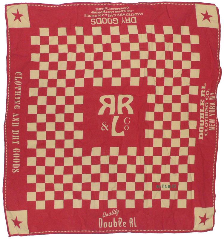 RRL 'Checkerboard' Bandana