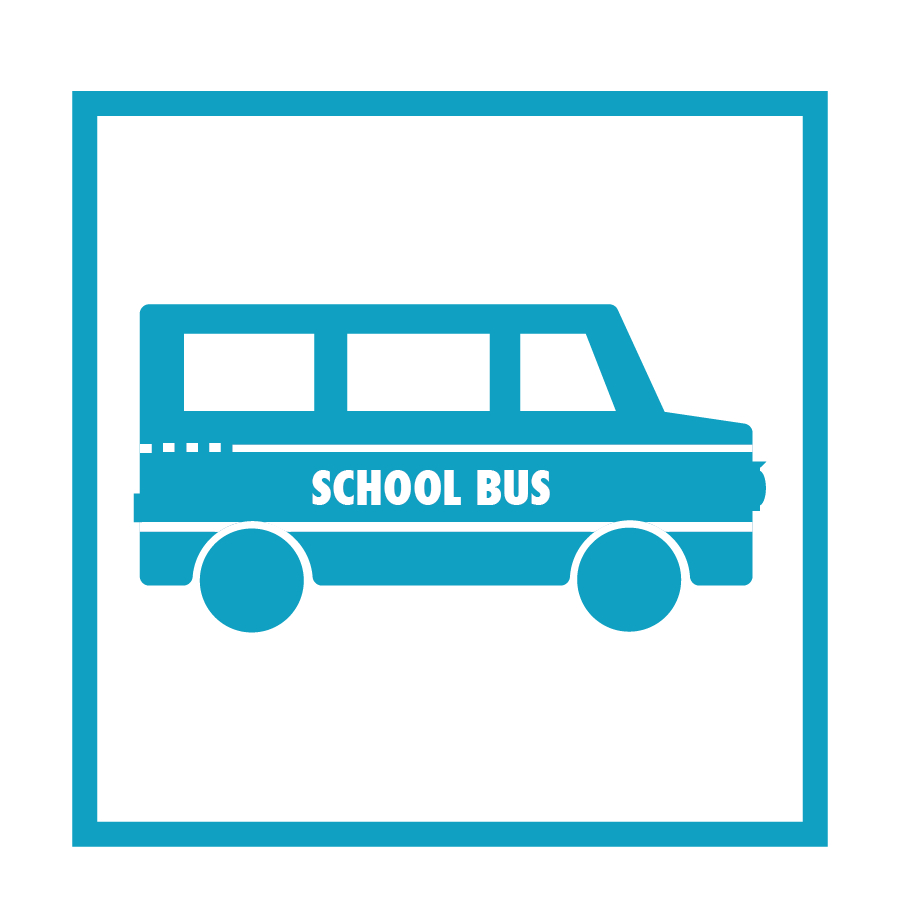 9 School Buses for      Refugees Sponsored