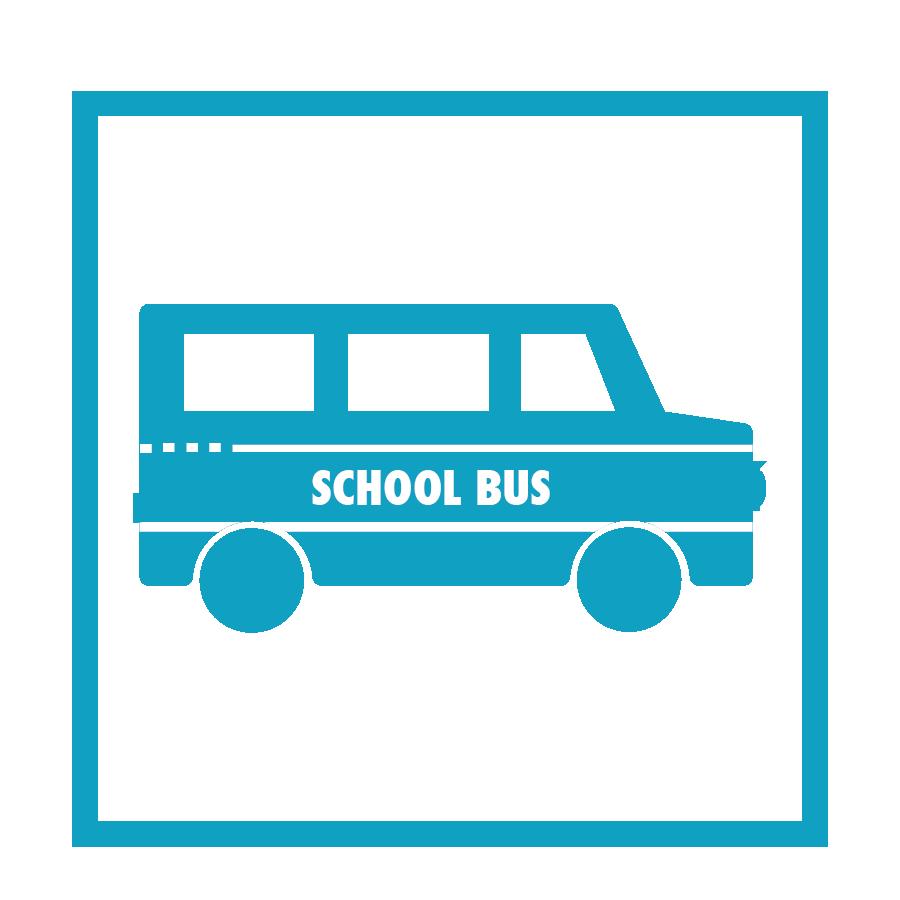 9 School Buses for    Refugees Sponsored
