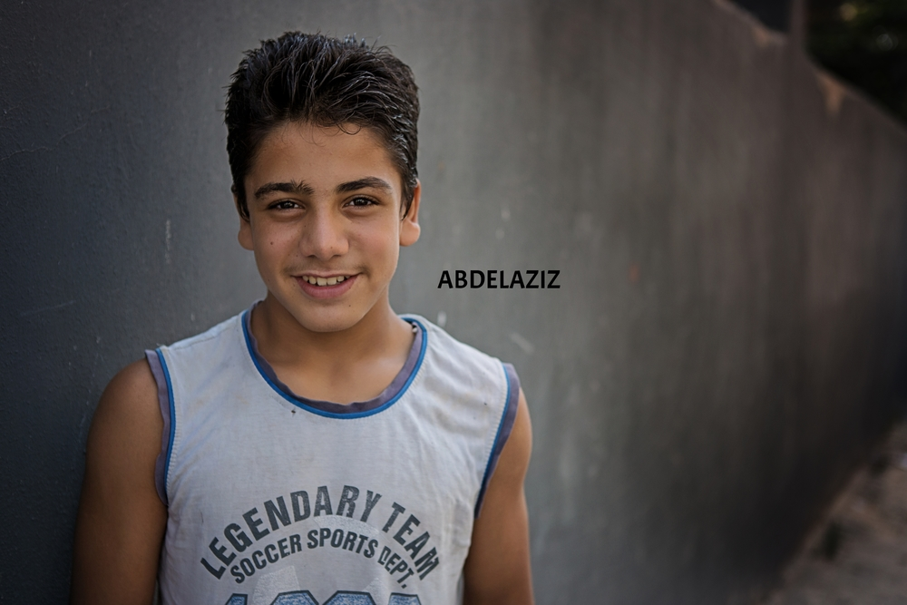 Abdelaziz's  favorite subject in school is science. Click on the image to read more about him and his four siblings!