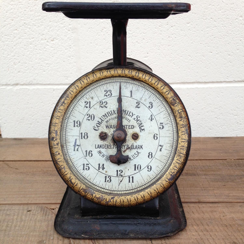 Black Vintage Scale