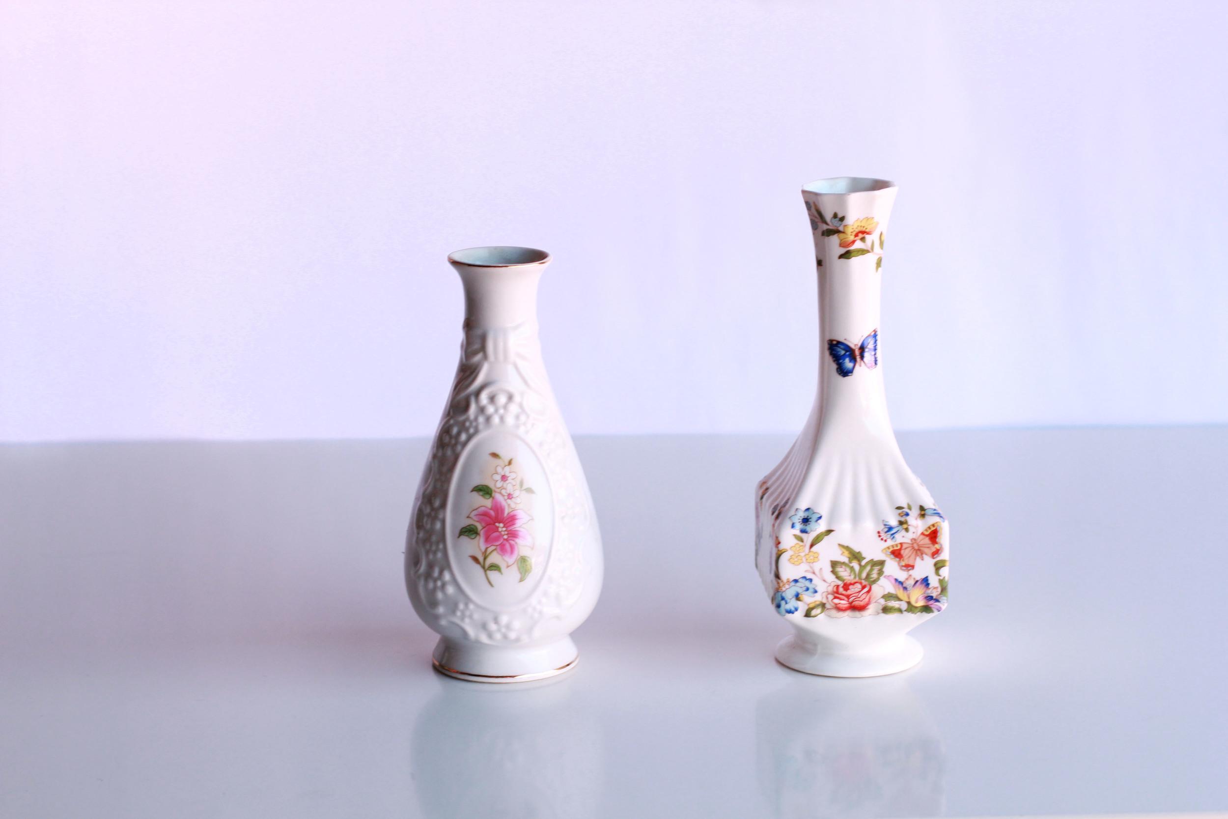 Small Porcelain Vases