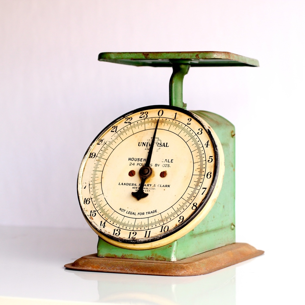 Green Vintage Scale