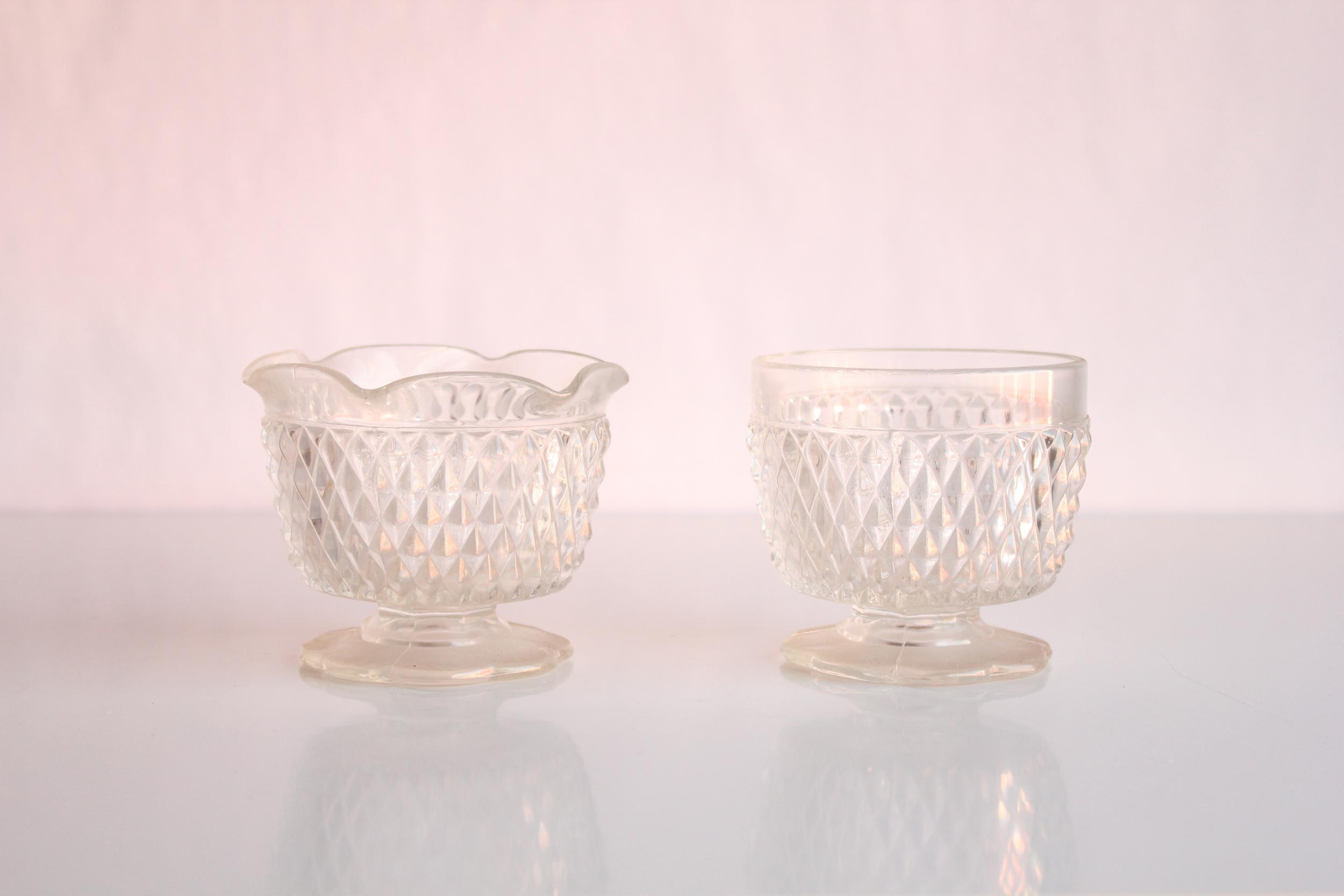 Clear Sugar Bowls