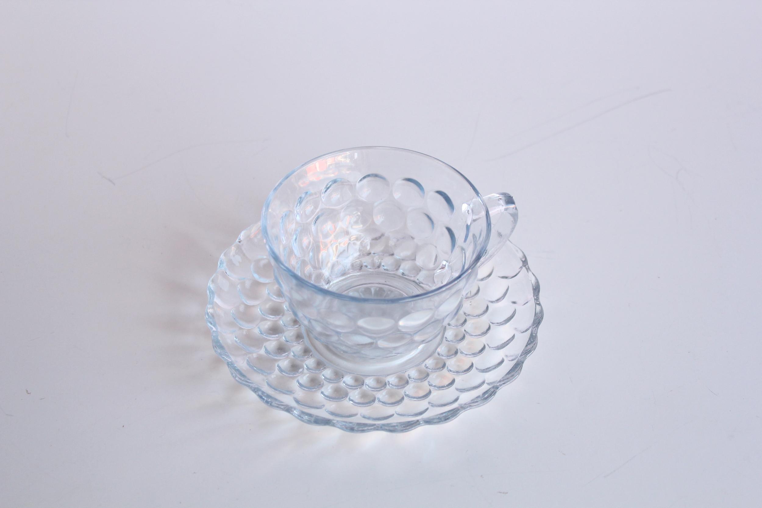Blue Bubble Tea Cup