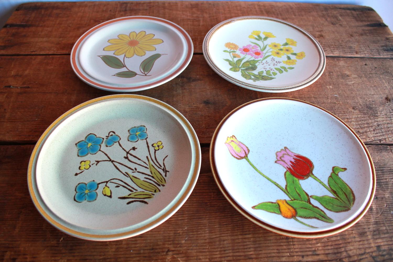 Stoneware Dessert Plates