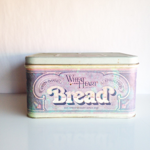 Vintage Bread Tin